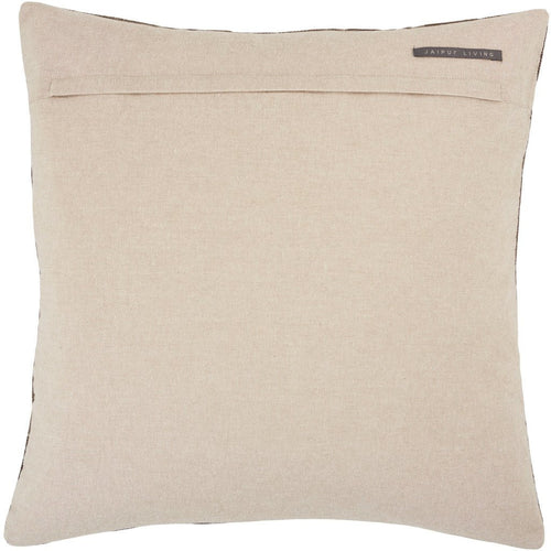 Jaipur Living Jacques Nouveau Dark Taupe Pillow-Pillows-Jaipur Living-Heaven's Gate Home, LLC