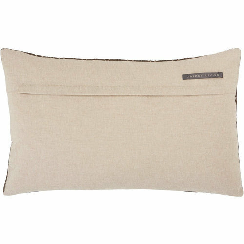 Jaipur Living Colinet Nouveau Dark Taupe Pillow