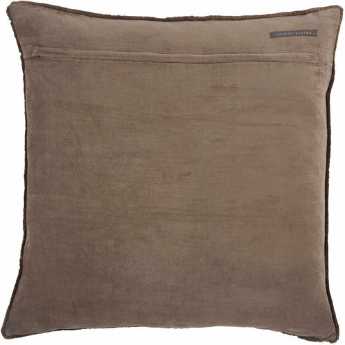 Jaipur Living Sunbury Nouveau Dark Taupe Pillow, Set/2-Pillows-Jaipur Living-Heaven's Gate Home, LLC