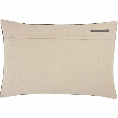 Jaipur Living Bourdelle Nouveau Dark Taupe Pillow