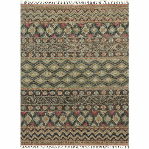 "Loloi Owen OW-03 Transitional Hand Woven Area Rug-Rugs-Loloi-Green-1'-6"" x 1'-6"" Sample-Heaven's Gate Home, LLC"