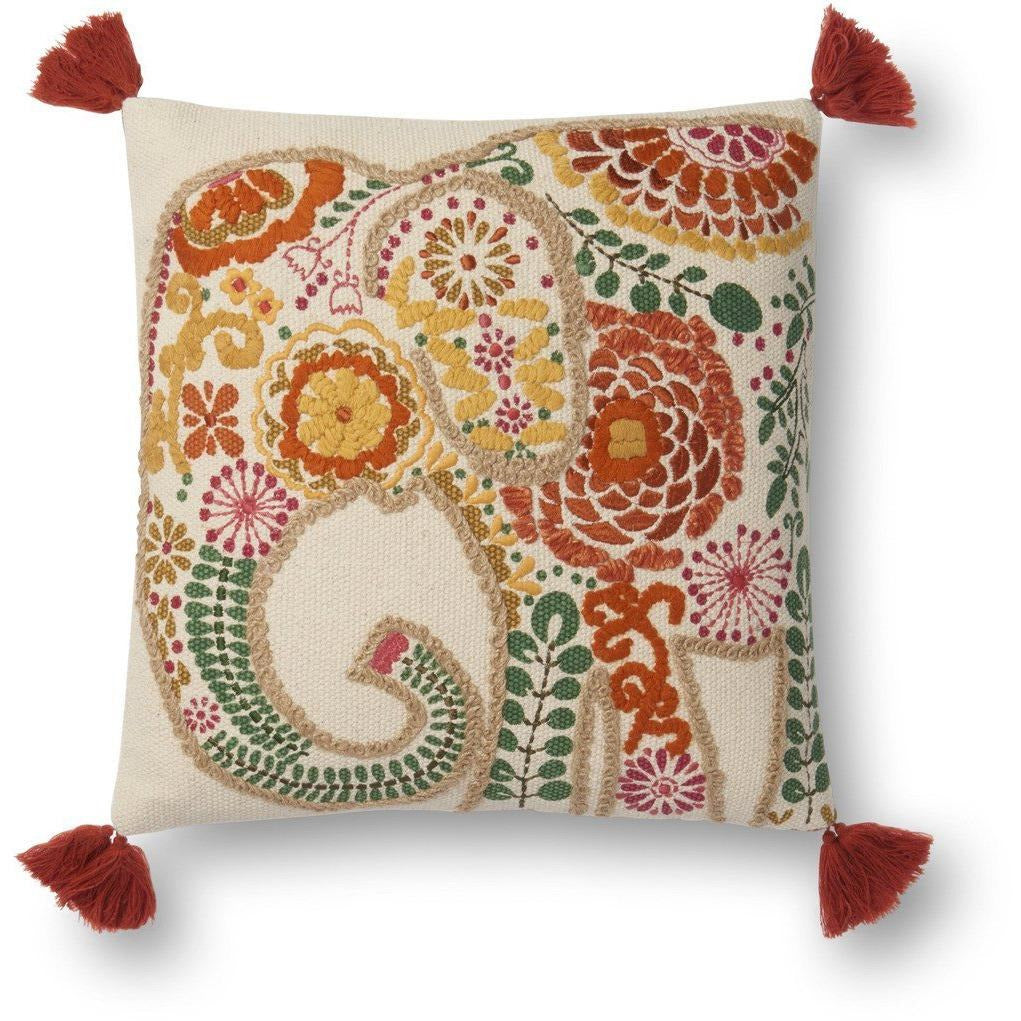 Loloi P0538 Cotton Pillow