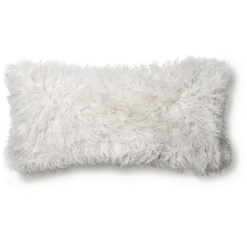 "Loloi P0597 Acrylic Pillow-Pillows-Loloi-Ivory-12"" x 27"", Set/2-Cover Only-Heaven's Gate Home, LLC"