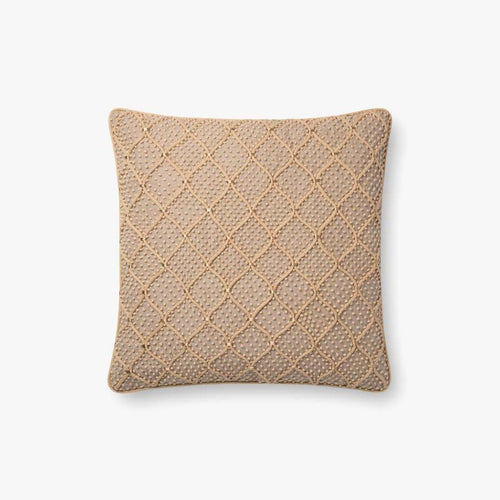 Loloi P0675 Linen Pillow-Pillows-Loloi-Heaven's Gate Home, LLC