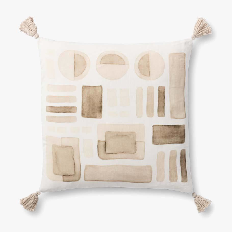Loloi P0934 Linen Pillow