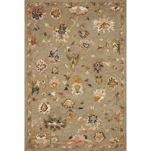 "Loloi Padma PMA-02 Transitional Hooked Area Rug-Rugs-Loloi-Gray-2'-3"" x 3'-9""-Heaven's Gate Home, LLC"