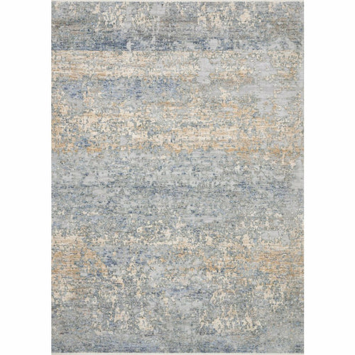"Loloi Pandora PAN-05 Traditional Power Loomed Area Rug-Rugs-Loloi-Blue-1'-6"" x 1'-6"" Sample-Heaven's Gate Home, LLC"