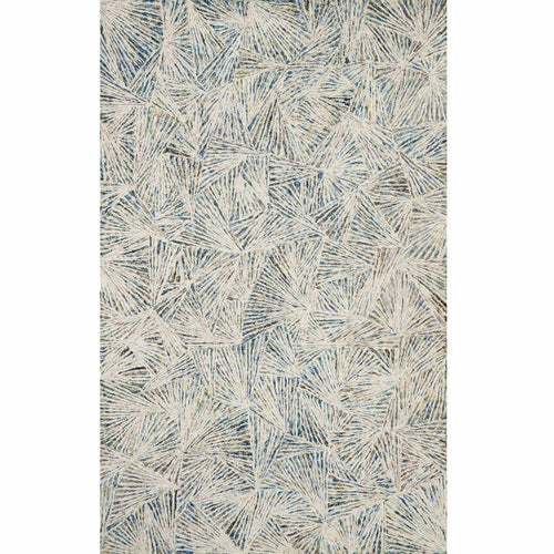 "Loloi Peregrine PER-01 Contemporary Hand Tufted Area Rug-Rugs-Loloi-Blue-1'-6"" x 1'-6"" Sample-Heaven's Gate Home, LLC"