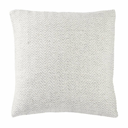 "Jaipur Living Marana Peykan White Handmade Pillow, Set/2-Pillows-Jaipur Living-White-22"" x 22"", Set/2-Down-Heaven's Gate Home, LLC"