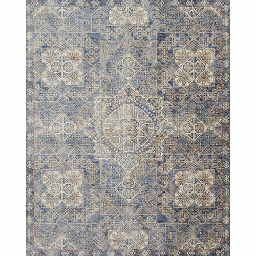 "Loloi Porcia PB-02 Transitional Power Loomed Area Rug-Rugs-Loloi-Blue-2'-0"" x 3'-4""-Heaven's Gate Home, LLC"