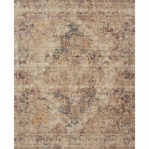 "Loloi Porcia PB-04 Transitional Power Loomed Area Rug-Rugs-Loloi-Rust-1'-6"" x 1'-6"" Sample-Heaven's Gate Home, LLC"