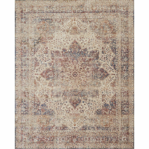"Loloi Porcia PB-05 Transitional Power Loomed Area Rug-Rugs-Loloi-Rust-2'-0"" x 3'-4""-Heaven's Gate Home, LLC"