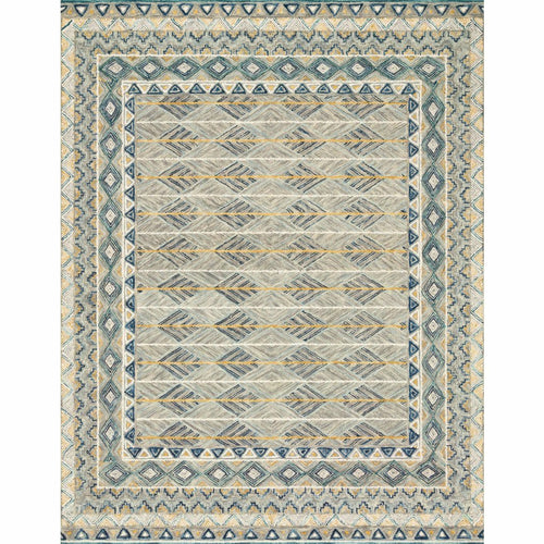 "Loloi Priti PRT-02 Contemporary Hooked Area Rug-Rugs-Loloi-Gray-1'-6"" x 1'-6"" Sample-Heaven's Gate Home, LLC"