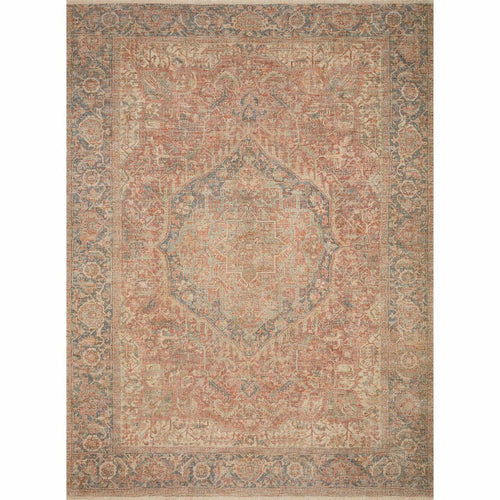 "Loloi Priya PRY-07 Transitional Hand Woven Area Rug-Rugs-Loloi-Rust-18"" x 18"" Sample-Heaven's Gate Home, LLC"