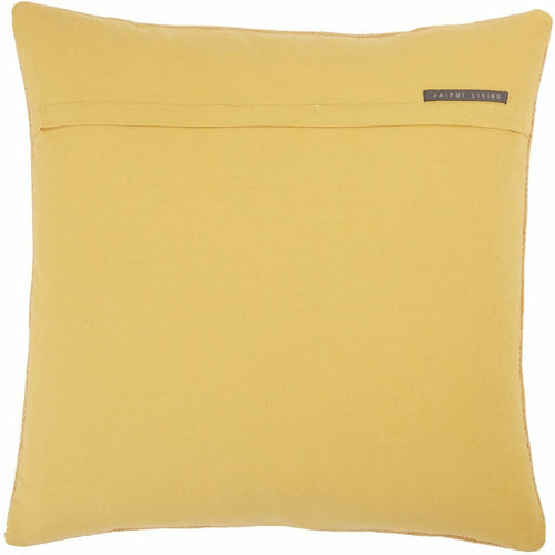 Jaipur Living Nufisa Puebla Yellow Pillow