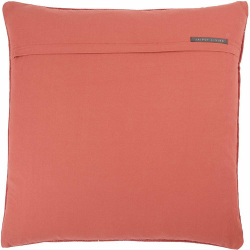 Jaipur Living Abeni Puebla Red Pillow-Pillows-Jaipur Living-Heaven's Gate Home, LLC
