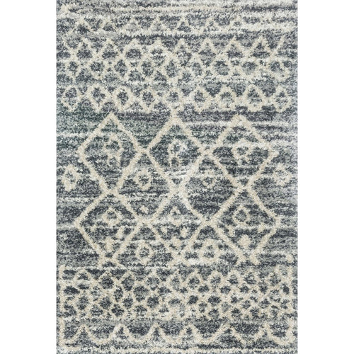 "Loloi Quincy QC-02 Shags Power Loomed Area Rug-Rugs-Loloi-Charcoal-2'-3"" x 4'-0""-Heaven's Gate Home, LLC"