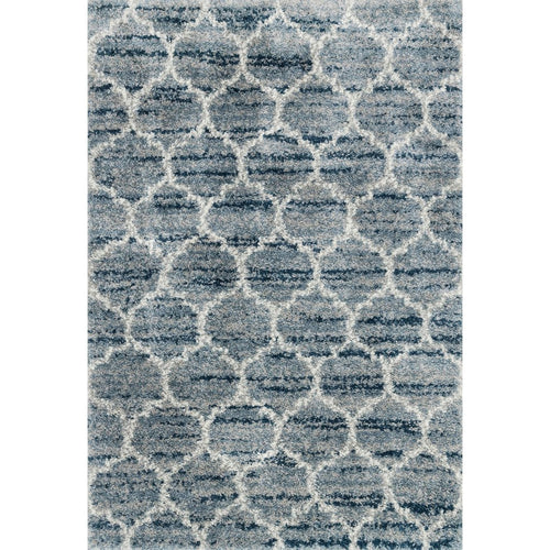 "Loloi Quincy QC-03 Shags Power Loomed Area Rug-Rugs-Loloi-Blue-1'-6"" x 1'-6"" Sample-Heaven's Gate Home, LLC"