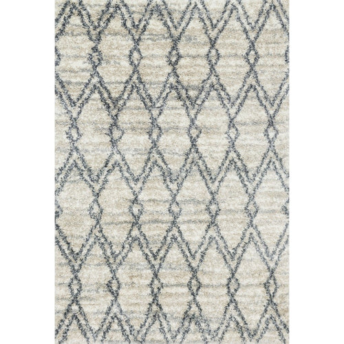 "Loloi Quincy QC-04 Shags Power Loomed Area Rug-Rugs-Loloi-Ivory-1'-6"" x 1'-6"" Sample-Heaven's Gate Home, LLC"