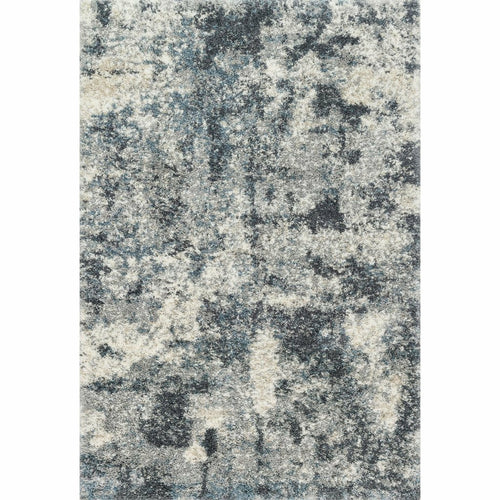 "Loloi Quincy QC-06 Shags Power Loomed Area Rug-Rugs-Loloi-Black-1'-6"" x 1'-6"" Sample-Heaven's Gate Home, LLC"