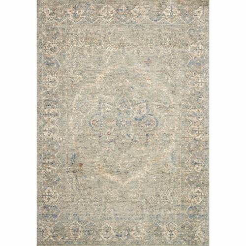 "Loloi Revere REV-02 Traditional Power Loomed Area Rug-Rugs-Loloi-Cream-1'-6"" x 1'-6"" Sample-Heaven's Gate Home, LLC"