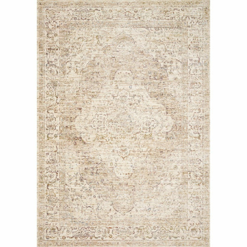 "Loloi Revere REV-04 Traditional Power Loomed Area Rug-Rugs-Loloi-Ivory-1'-6"" x 1'-6"" Sample-Heaven's Gate Home, LLC"
