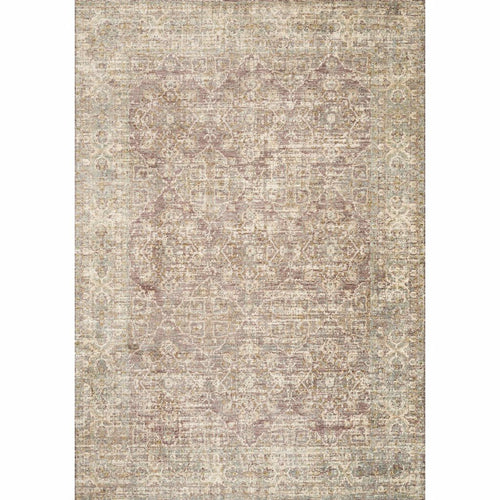 "Loloi Revere REV-05 Traditional Power Loomed Area Rug-Rugs-Loloi-Purple-1'-6"" x 1'-6"" Sample-Heaven's Gate Home, LLC"
