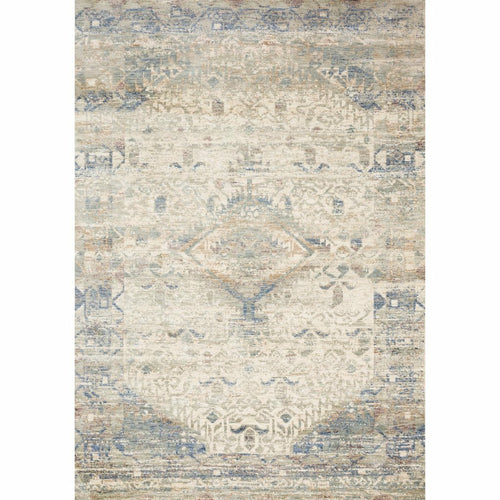 "Loloi Revere REV-06 Traditional Power Loomed Area Rug-Rugs-Loloi-Ivory-1'-6"" x 1'-6"" Sample-Heaven's Gate Home, LLC"