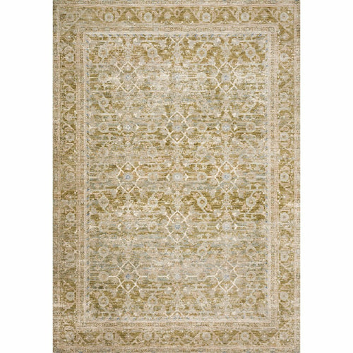 "Loloi Revere REV-07 Traditional Power Loomed Area Rug-Rugs-Loloi-Green-1'-6"" x 1'-6"" Sample-Heaven's Gate Home, LLC"