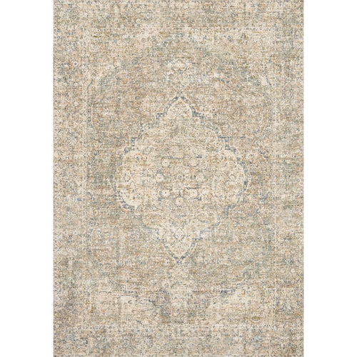 "Loloi Revere REV-08 Traditional Power Loomed Area Rug-Rugs-Loloi-Beige-1'-6"" x 1'-6"" Sample-Heaven's Gate Home, LLC"