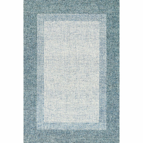 "Loloi Rosina ROI-01 Contemporary Hand Tufted Area Rug-Rugs-Loloi-Aqua-2'-3"" x 3'-9""-Heaven's Gate Home, LLC"