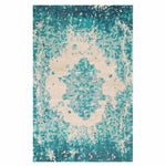 Company C Looking Glass Textural 100% Hand-Spun Bamboo Viscose Rug, Lake-Rugs-Company C-3' x 5'-Heaven's Gate Home