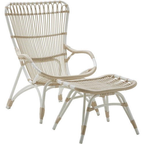 Sika-Design Exterior Monet Footstool, Outdoor-Stools-Sika Design-Heaven's Gate Home