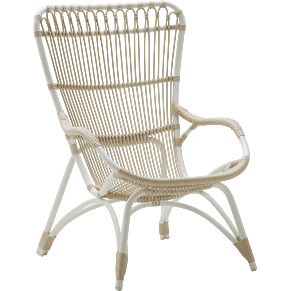 Sika-Design Exterior Monet Lounge Chair and/or Stool, Outdoor-Lounge Chairs-Sika Design-Heaven