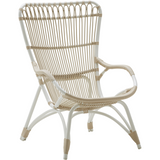 Sika-Design Exterior Monet Lounge Chair and/or Stool, Outdoor-Lounge Chairs-Sika Design-Chair-White-Heaven's Gate Home