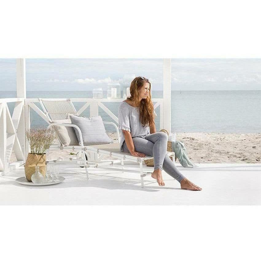Sika-Design Exterior Josephine Sunbed, Outdoor-Lounge Chairs-Sika Design-Heaven's Gate Home