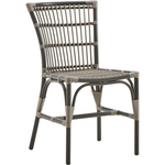 Sika-Design Exterior Elisabeth Dining Chair, Outdoor-Dining Chairs-Sika Design-Brown-Heaven's Gate Home
