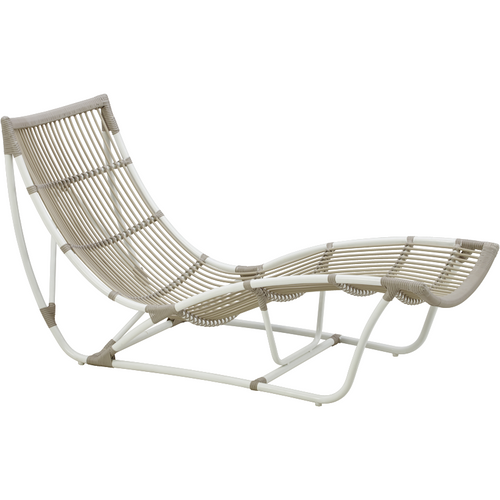Sika-Design Exterior Michelangelo Daybed, Outdoor-Daybeds-Sika Design-Dove White-Heaven's Gate Home