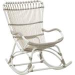 Sika-Design Exterior Monet Rocking Chair, Outdoor-Rocking Chairs-Sika Design-White-Heaven's Gate Home
