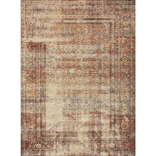 "Loloi Sebastian SEB-05 Traditional Power Loomed Area Rug-Rugs-Loloi-Natural-1'-6"" x 1'-6"" Sample-Heaven's Gate Home, LLC"