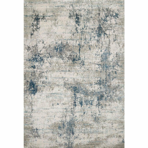 "Loloi Sienne SIE-02 Contemporary Power Loomed Area Rug-Rugs-Loloi-Blue-1'-6"" x 1'-6"" Sample-Heaven's Gate Home, LLC"