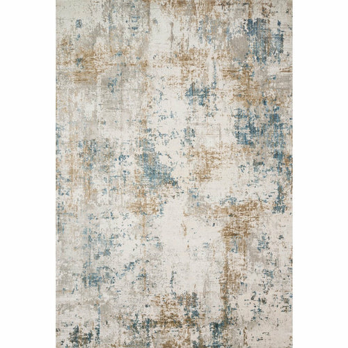 "Loloi Sienne SIE-04 Contemporary Power Loomed Area Rug-Rugs-Loloi-Ivory-1'-6"" x 1'-6"" Sample-Heaven's Gate Home, LLC"