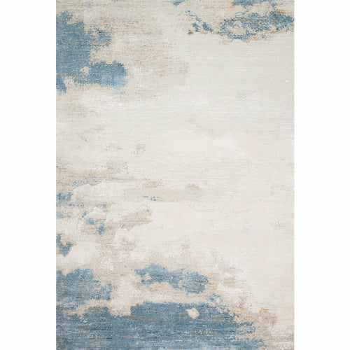 "Loloi Sienne SIE-08 Contemporary Power Loomed Area Rug-Rugs-Loloi-Ivory-1'-6"" x 1'-6"" Sample-Heaven's Gate Home, LLC"