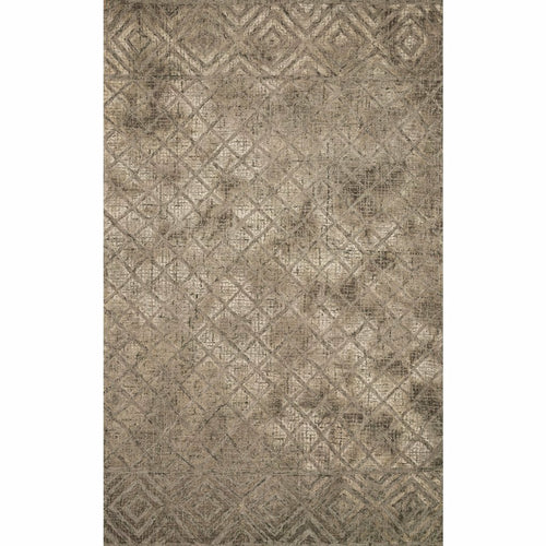 "Loloi Simone SIM-01 Contemporary Hooked Area Rug-Rugs-Loloi-Brown-1'-6"" x 1'-6"" Sample-Heaven's Gate Home, LLC"