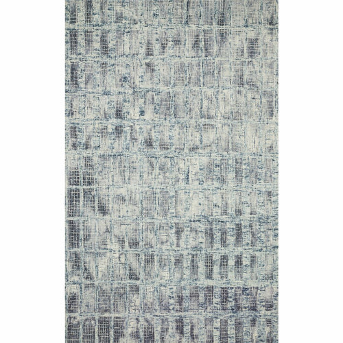 "Loloi Simone SIM-02 Contemporary Hooked Area Rug-Rugs-Loloi-Blue-1'-6"" x 1'-6"" Sample-Heaven's Gate Home, LLC"