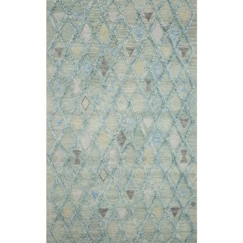"Loloi Symbology SYM-02 Contemporary Hand Tufted Area Rug-Rugs-Loloi-Multi-1'-6"" x 1'-6"" Sample-Heaven's Gate Home, LLC"
