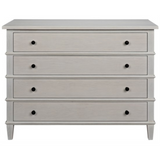 CFC Dennis 4-Drawer Dresser, Gray Shellac *Quick Ship*-Dressers-CFC-Heaven's Gate Home