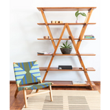 Masaya Watson Standing Hardwood Shelves, Handmade-Shelving-Masaya & Co.-Heaven's Gate Home