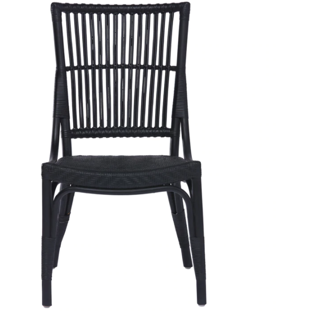 Sika Design Originals Piano Rattan Dining Side Chair, Indoor
