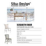 Sika-Design Exterior Elisabeth Chair - Heaven's Gate Home & Garden